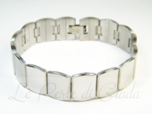 Bracciale OSHAWA Uomo Acciaio Inox Stainless Steel Bracelet Urban Lifestyle