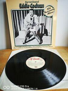 The Very Best Of Eddie Cochran....15th Anniversary Album. Reissue **Near Mint **