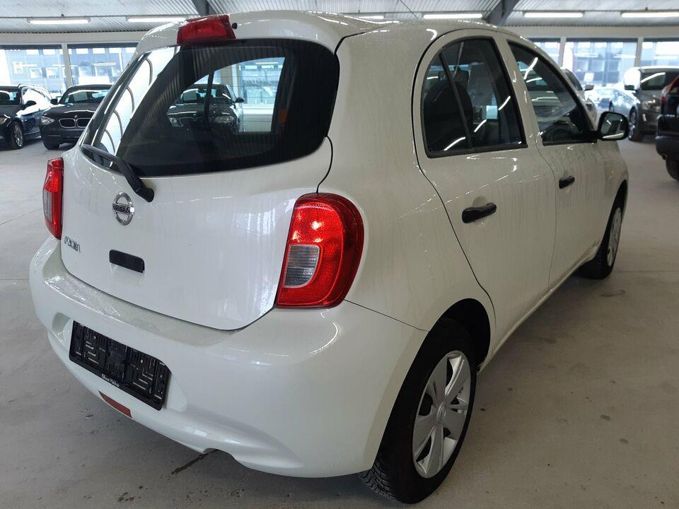 Nissan Micra 1,2 Visia Benzin modelår 2013 km 96000 ABS True
