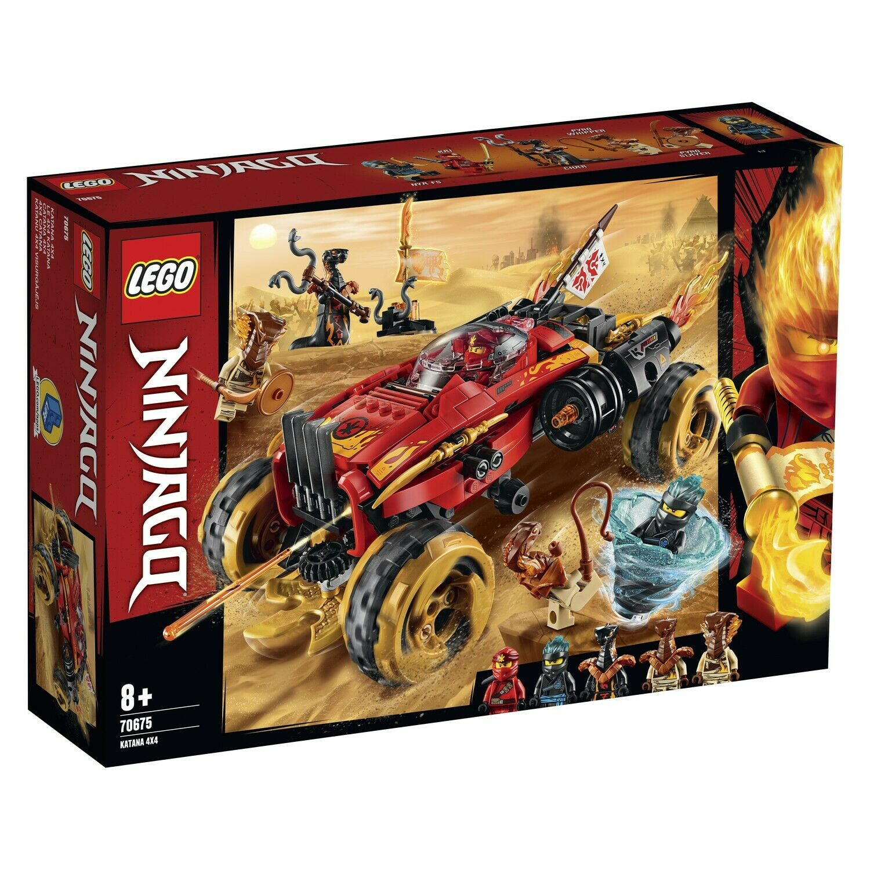 i nuovi marchi outlet online LEGO 70675-Ninjago 70675-Ninjago 70675-Ninjago ® - KATANA 4x4  disponibile