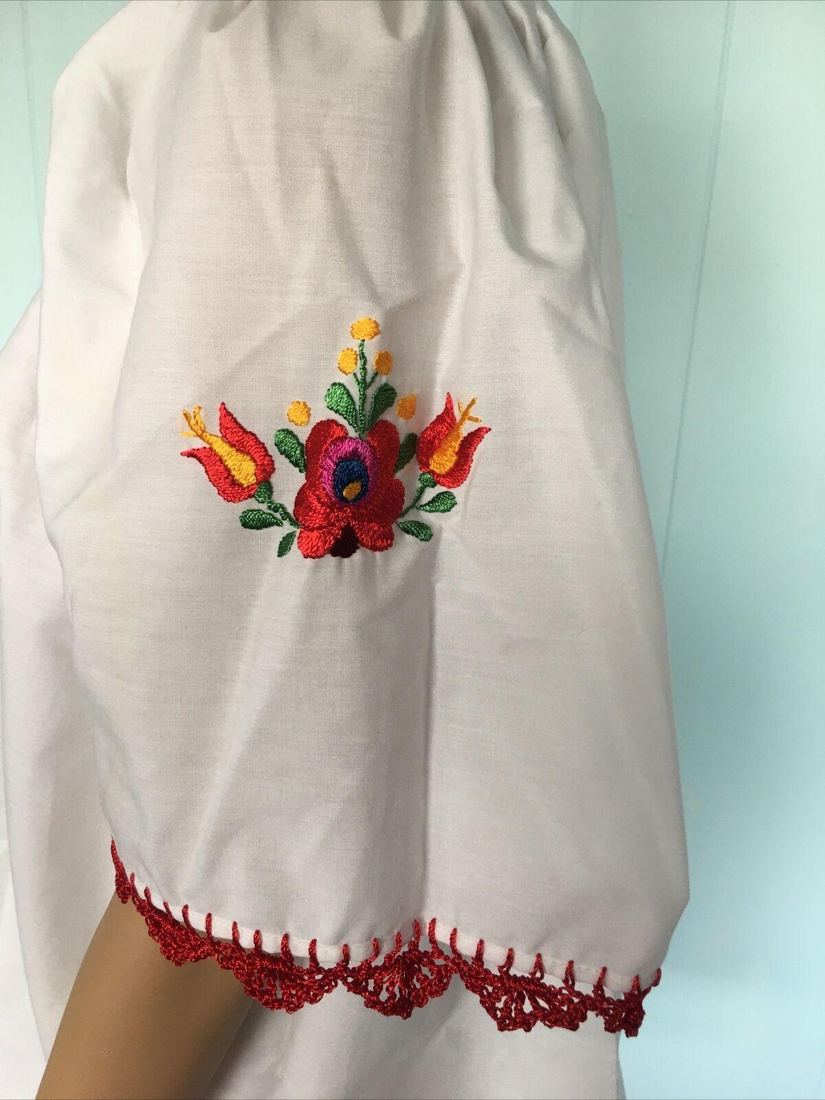 Traditional Hungarian Matyo Kalocsai Embroidered … - image 4