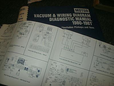 1980 1981 CHEVROLET / GMC TRUCK WIRING VACUUM DIAGRAMS ...