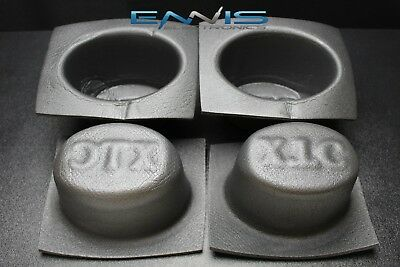 2 PCS Speaker Baffle Acoustic Foam 6 X 9 Oval Universal CAR Audio BASS VXT69