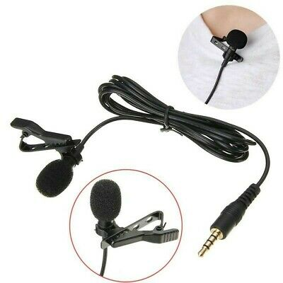 3pc Lavalier Lapel Clip-on Condenser Microphone For Smart Phone Omni-directional