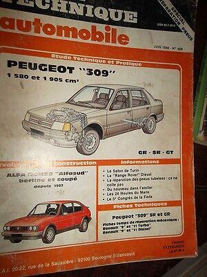 Peugeot 405 1580 et 1905 cm3 revue tech RTA 486