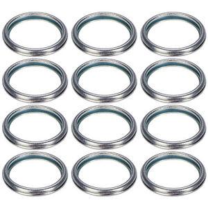 10pcs Anti-leakage Oil Drain Plug Crush Gaskets 16mm ID 803916010 Replacement Fit for S-ubaru Oil Drain Plug Gaskets