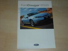 62266) Ford Cougar ST 200 Prospekt 08/1999