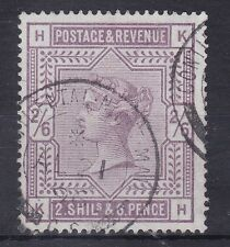 BD403) Great Britain 1883 2/6d Lilac on Blued Paper, SG 175