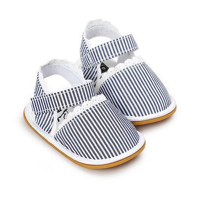 Retro Newborn Baby Kids Girls Casual Sandals Sneakers Anti-slip Soft Sole Shoes