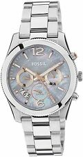 Fossil ES3880 Perfect Boyfriend Gray Mother of Pearl Dial Ladies Watch