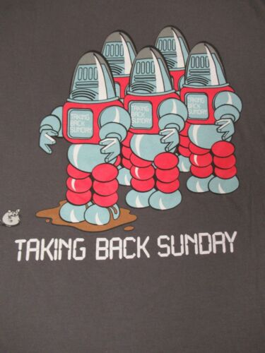 TAKING BACK SUNDAY MOUSE AND ROBOTS GRAPHIC LARGE