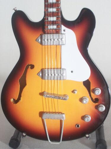 Beatles Guitare miniature Epiphone Casino John Lennon