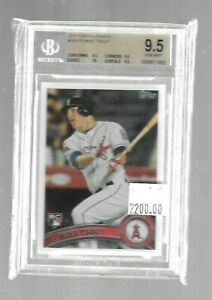 Mike-Trout-2011-Topps-Update-Rookie-BGS-9-5-True-Gem-Angels