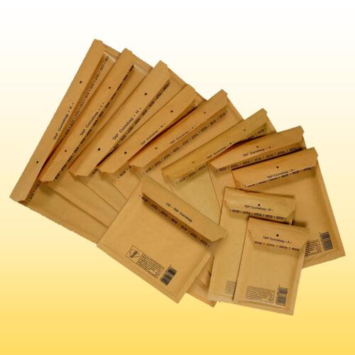 3 400 Luftpolstertaschen Gr goldgelb TAP Luftpolsteumschläge Versandtaschen C
