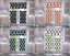 3PC-SET-FAUX-SILK-SMALL-KITCHEN-WINDOW-CURTAIN-GEOMETRIC-PRINTED-LINED-BLACKOUT thumbnail 1