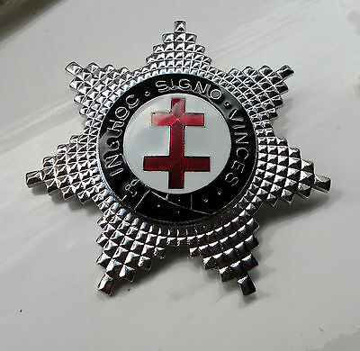 ZP299 Freemason Knights Templar Breast Star Preceptor