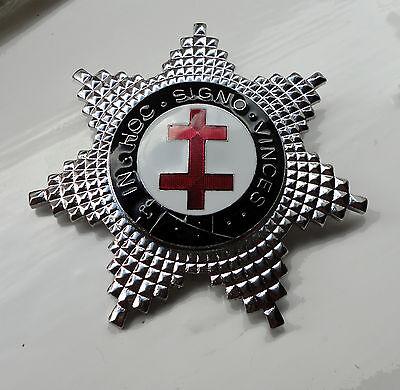 ZP299 Freemason Knights Templar Breast Star Preceptor