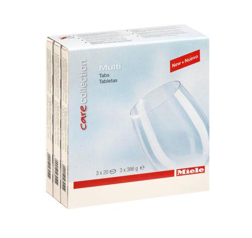 Miele Care Collection Détergent pour lave-vaisselle Onglets 2 Packs 120 comprimés Total
