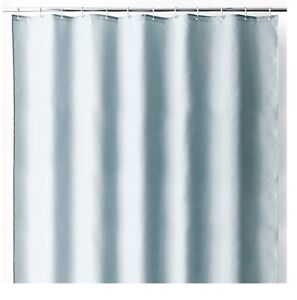 Image Is Loading Wamsutta Luxury Fabric Ice Blue Shower Curtain Liner