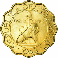 KM27 Paraguay 1953 25 Centimos Uncirculated