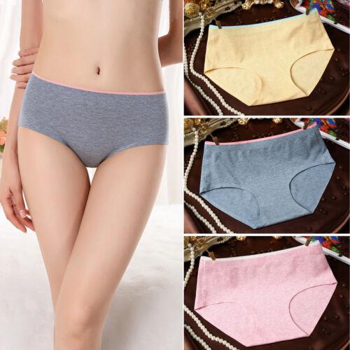 AM/_ Women Briefs Seamless Cotton Comfortable Underwear Panties Underpants Dazzli