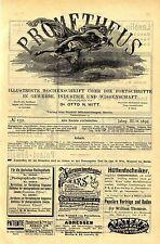 Reichspatent 48248 Photographische Camera Lizenznehmer gesucht Eastman Film 1892