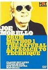 Joe Morello Drum Method 1 - The Natural Approach to Technique 2006 DVD