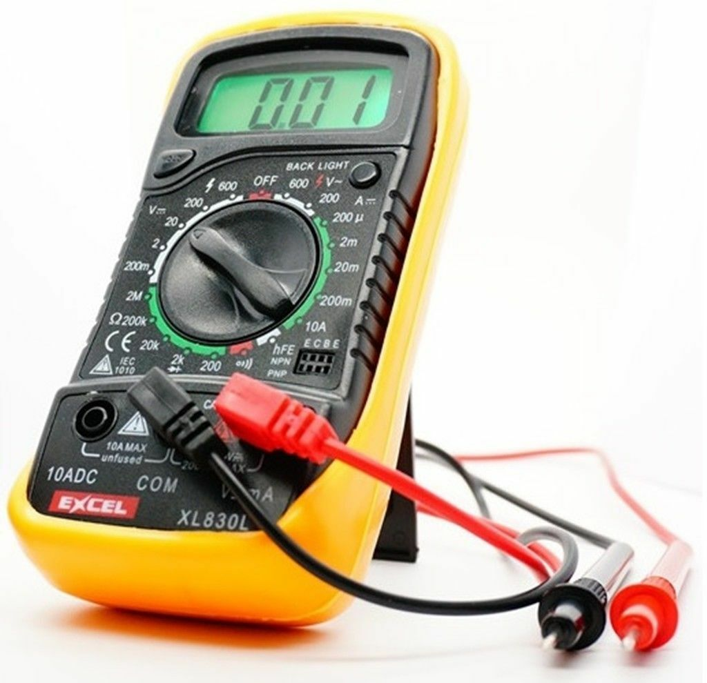 Digital Test Meters : Digital voltmeter ammeter ohmmeter multimeter volt ac dc