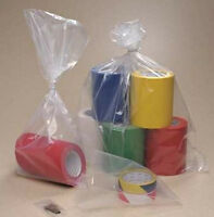 200 Clear 4 X 6 Small Plastic Flat Poly Bags Open Top / Open End 4 X 6 1.5 Mil