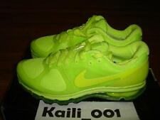 Nike Air Max +2010 Size 9.5 Volt Infrared Neon Red Hyperfuse 2013 Solar Retro B
