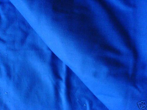 50cm x 125cm Royal Blue Shade Cotton Stretch Twill Fabric New by Dcf