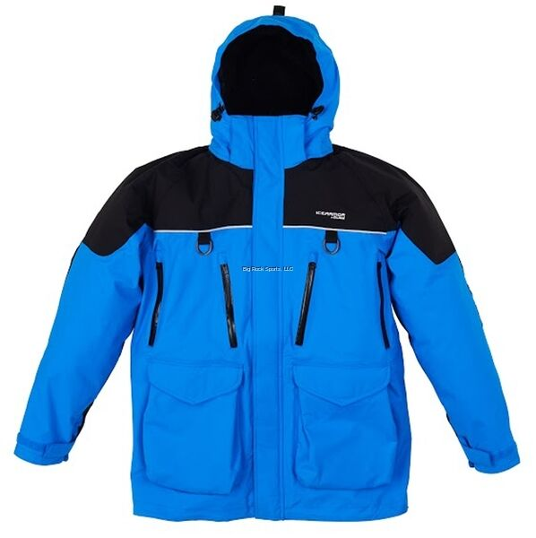 NEW CLAM ICE Blau ARMOR EDGE COLD WEATHER PARKA Blau ICE XL 10280 4da80b