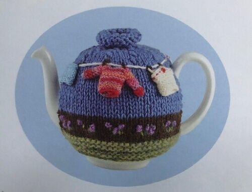 HA010 Knitting Pattern Lavage Ligne Tea Cozy in DK