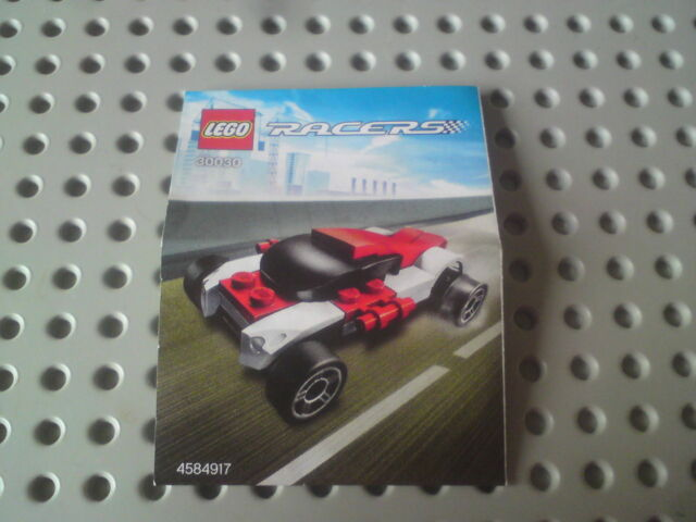 LEGO Set 30030 Racers: RALLY Raider, COMPLETO + MANUALE. senza scatola