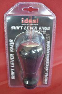 Para bmw palanca de cambio de cuero aluminio gris Knauf Gear Shift Knob circuitos Circuito saco