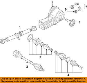 Details about AUDI OEM 06-09 A4 Quattro Rear-Drive Shaft 8E0521101AB