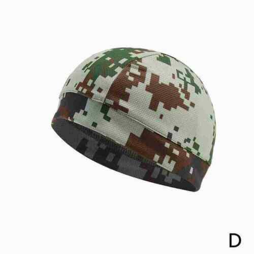Mens Quick-Drying Hat Cycling Skull Cap Bike Motorbike Under Helmet Hat P2T0