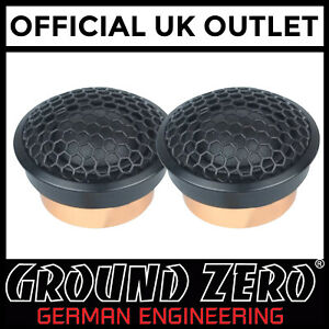 Ground-Zero-GZUT-25SQX-2-5-cm-1-034-Car-Speaker-Tweeter-4-Ohm-120-W-Peak