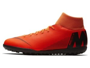 best sneakers 7e22d 68b28 Dettagli su Nike - Superflyx 6 Club TF - Scarpe Calcetto Outdoor -  Orange/Black - AH7372 810