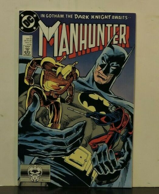 Manhunter #17 September 17 1989 1st app of batman in this series