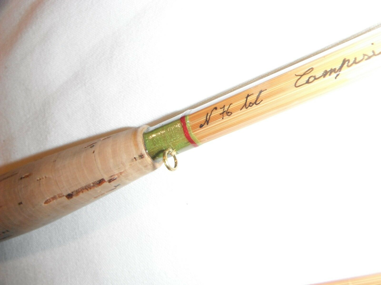 Fly Rod bamboo 2 reproduction of HL Leonard taper 6'10