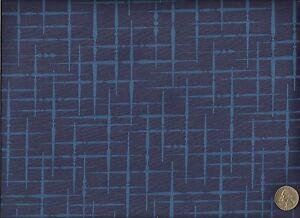 Luna textiles hatch too peacock modern retro geometric - Luna textil ...