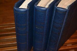 Drei-Leuchtturm-Vordruckalben-Bund-1949-2001-mit-postfr-Bund-Sammlung-Besond