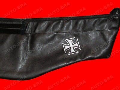 100% De Calidad Bra Für Bmw 7 E38 Bj. 94-01 + Logo Iron Cross Eisernes Kreuz Steinschlagschutz