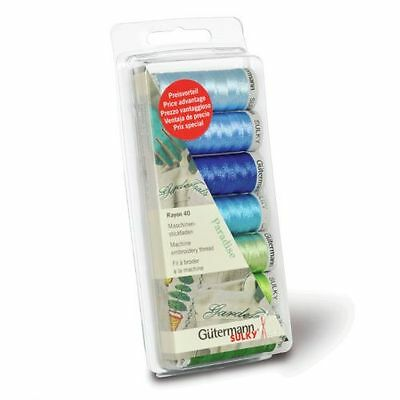 Pastel Paradise Embroidery Thread Set Rayon 40 Weight Exclusive Set of Jenny Haskins Thread by FLORIANI 25 SPOOLS of Pastel Paradise 1,110 Yards