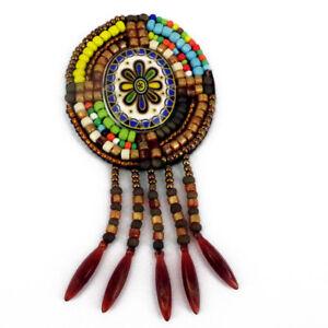 Patch-Sewing-bag-Decoration-Inca-Kuchi-Afghan-Banjara-Tribal-beads-AF45