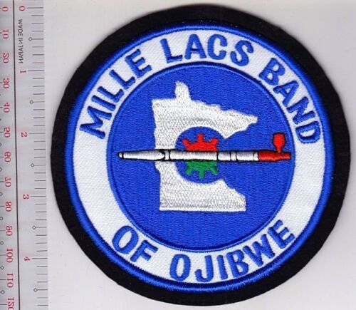 American Indian Tribe Seal Mille Lacs Band of Ojibwe the Reservation Eastern MN