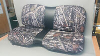 John Deere Gator Bench Seat Covers Xuv 855d / S4 In Camo & Black Or 45+ Colors