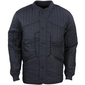 10 Deep Men Huntsman Quilted Jacket Navy Ebay