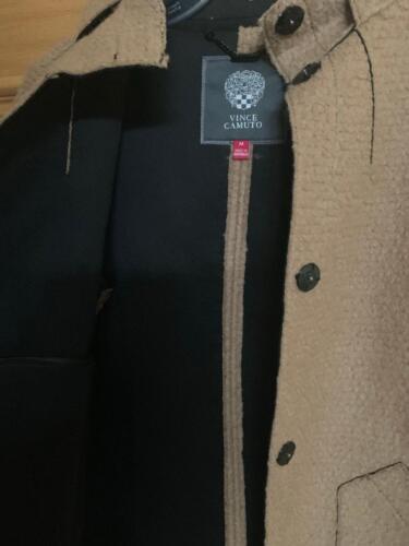 Nwt Camuto di Vince in Camel lana Medium Giacca donna da ZPR7zZ4c